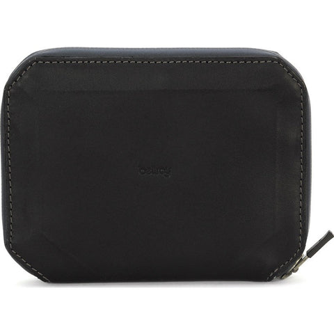 Bellroy Leather Elements Travel Zip Case | Black