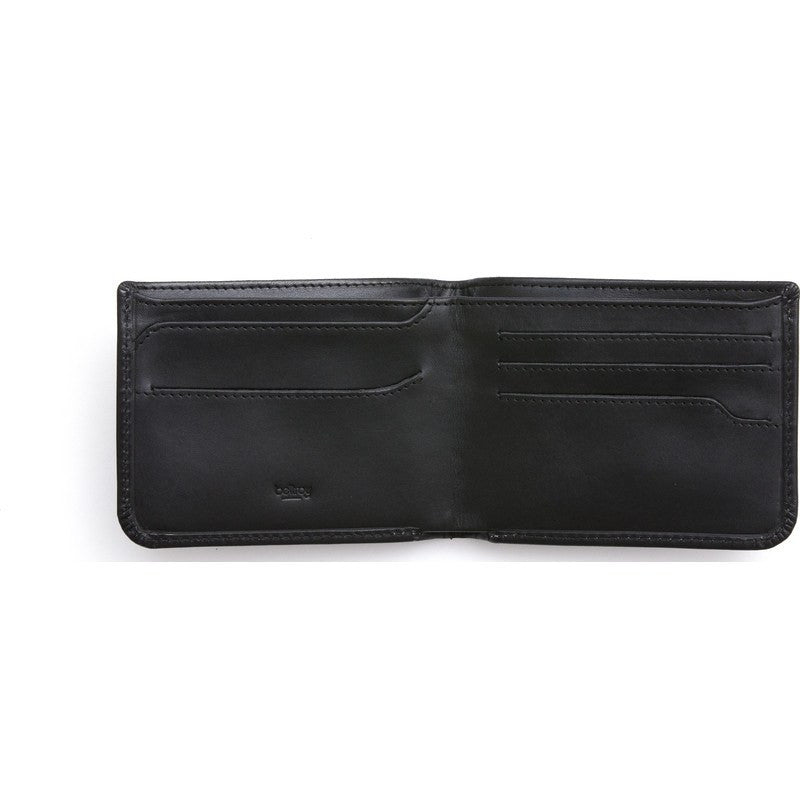 Bellroy Leather Hide & Seek Low Wallet | Black