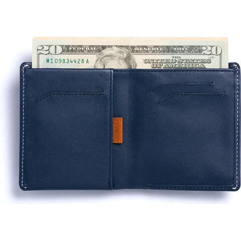 Bellroy Note Sleeve Bifold Wallet | Blue Steel WNSC-BlueSteel