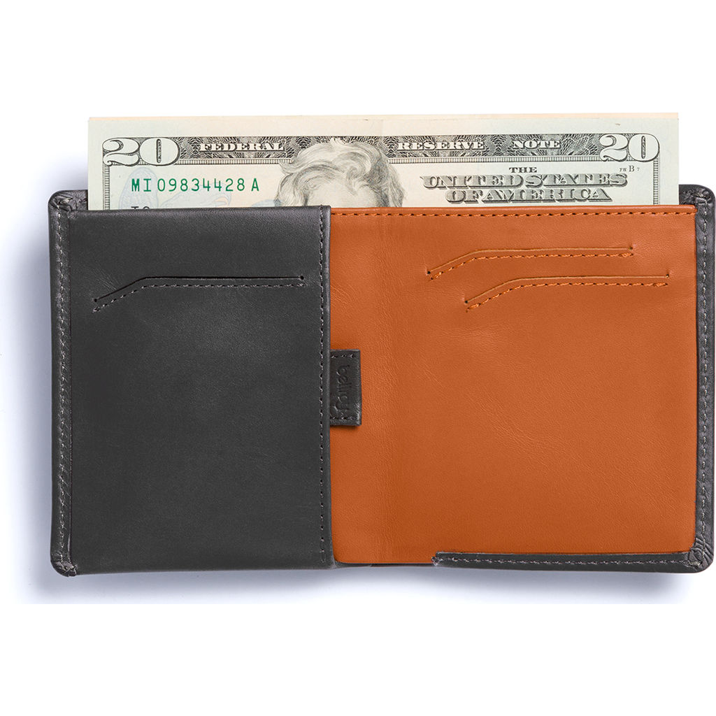 Bellroy Note Sleeve Bifold Wallet | Charcoal WNSC-Charcoal