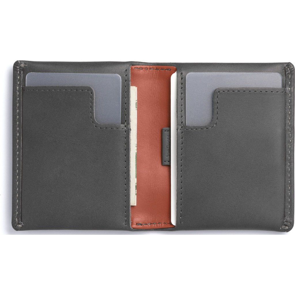 Bellroy Slim Sleeve Bifold Wallet | Charcoal WSSB-CHARCOAL