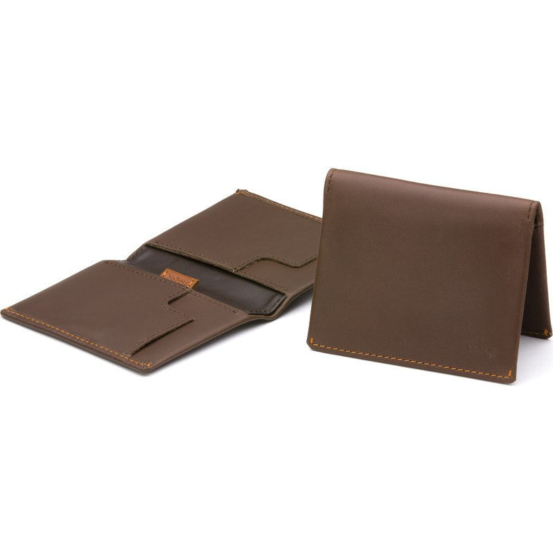 Bellroy Leather Slim Sleeve Bifold Wallet | Cocoa