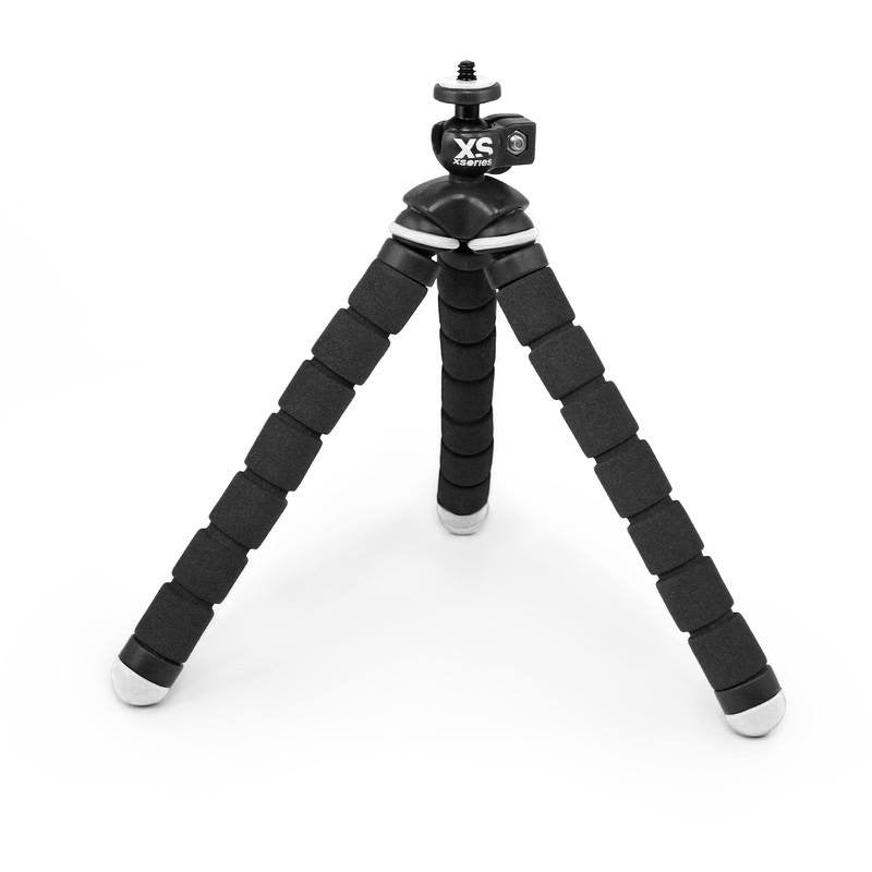 XSories Bendy Flexible Slip-Proof Tripod | Black/White