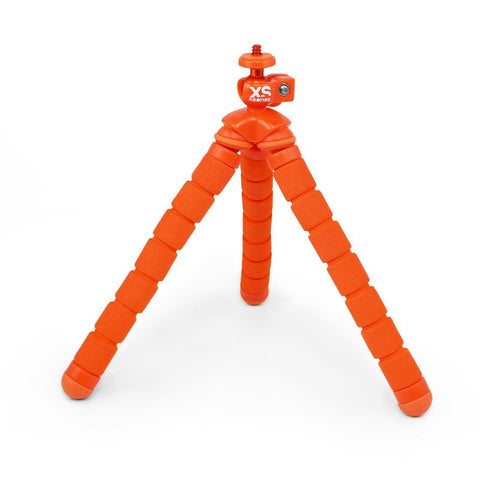 XSories Bendy Flexible Slip-Proof Tripod | Orange