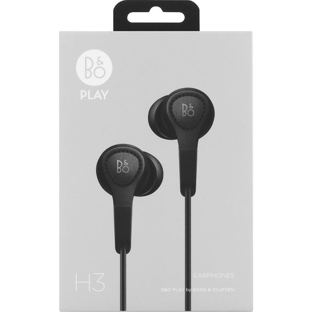 1d6f62357c1 Bang & Olufsen Beoplay H3 In-Ear Headphones Black 1643226 - Sportique