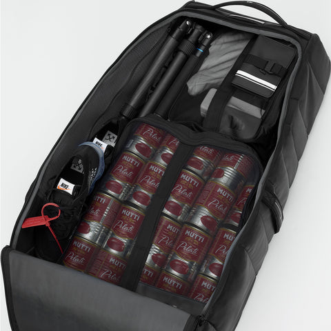 Douchebags The Big Bastard 90L Roller Suitcase | Black Out