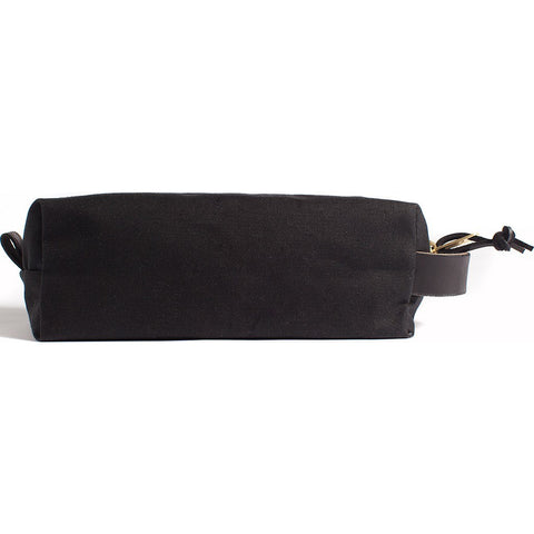 Joshu + Vela Dopp Kit | Black Wax Army Duck