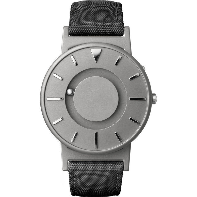 Eone Bradley Watch Classic | Black Canvas & Leather