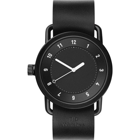 TID No. 1 Black Watch | Black Leather