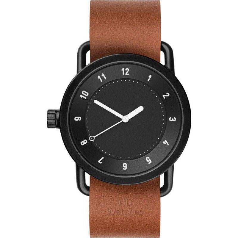 TID No. 1 Black Watch | Tan Leather