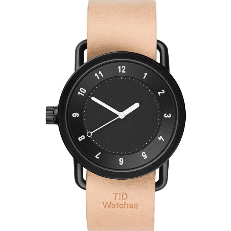 TID No. 1 Black Watch | Natural Leather