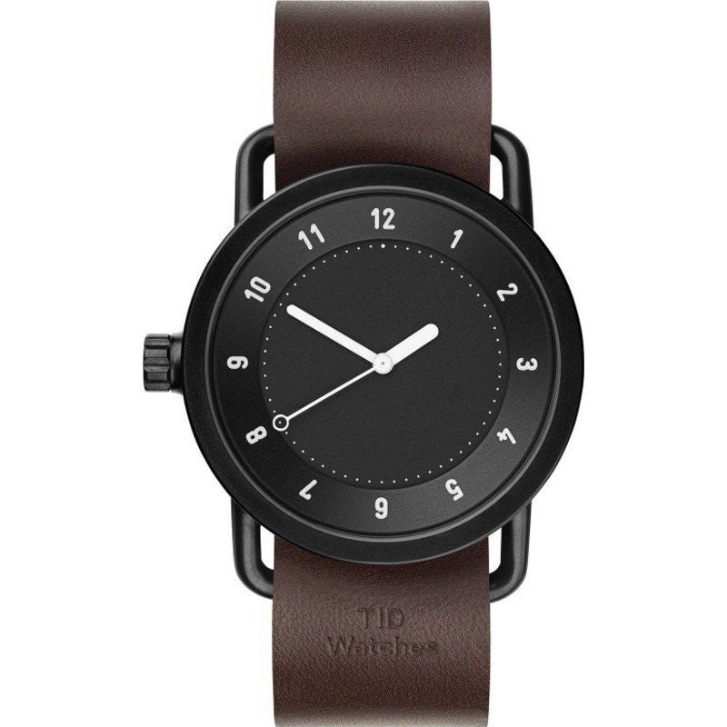 TID No. 1 Black Watch | Walnut Leather