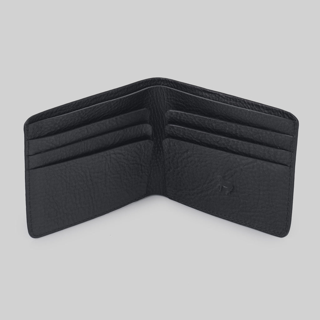 The Horse Men's Bi-fold Wallet | Black STO123 -L16