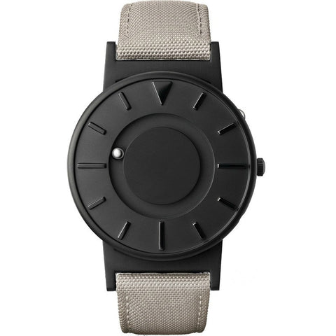 Eone Bradley Watch Black Ltd. | Beige Canvas & Leather