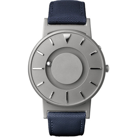 Eone Bradley Watch Classic | Blue Canvas & Leather