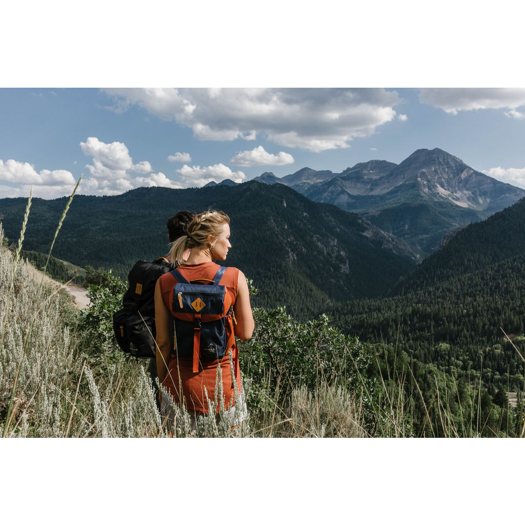 United By Blue Bluff Utility Backpack | Navy Rust- 504-0025-3639
