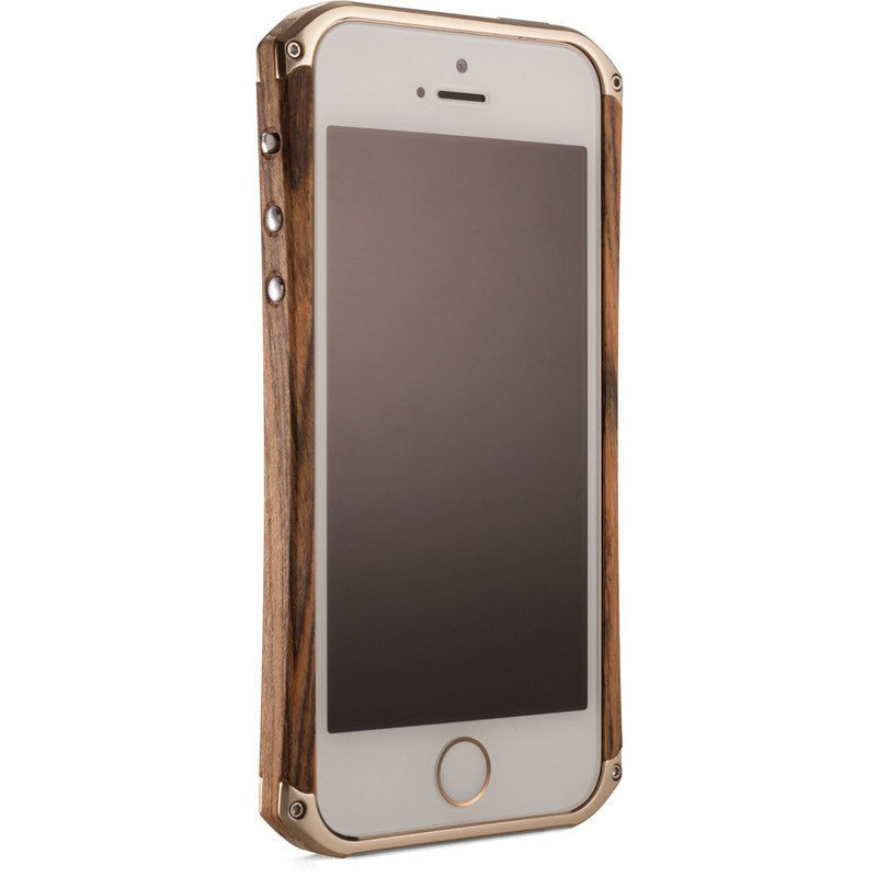 ElementCase Ronin iPhone 5/5s Case Bocote/Gold