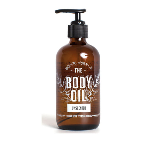 Brothers Artisan Oil Body Oil | Unscented BOU8