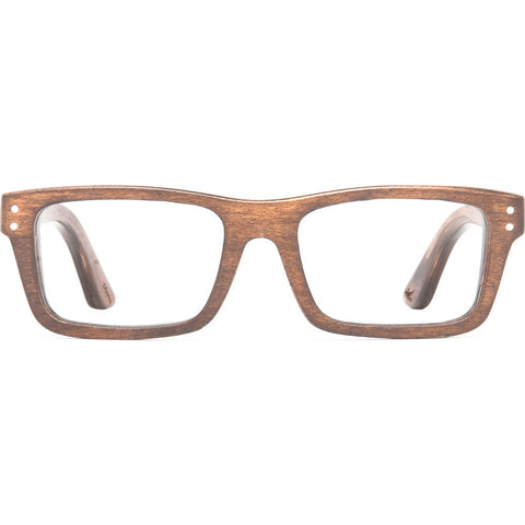 Proof Boise Optical Glasses | Stained Wood