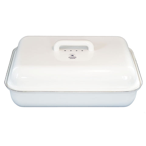 Riess Bread Bin | White