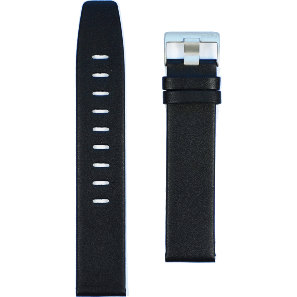 Braun Mens BN0021 BKBKG Leather Strap | Black