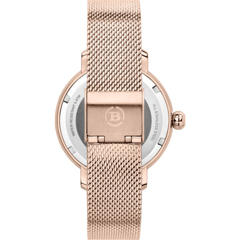 Brera Orologi Valentina Elegant Collection Womens Watch BRVAEL3802 RG MIL