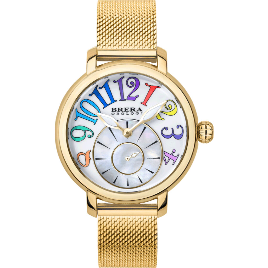 Brera Orologi Valentina Modern Collection Womens Watch BRVAMO3803 YG MIL