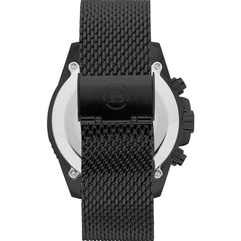 Brera Orologi Mistral Sport Collection Mens Watch BRSPMIC4403 BLK MIL