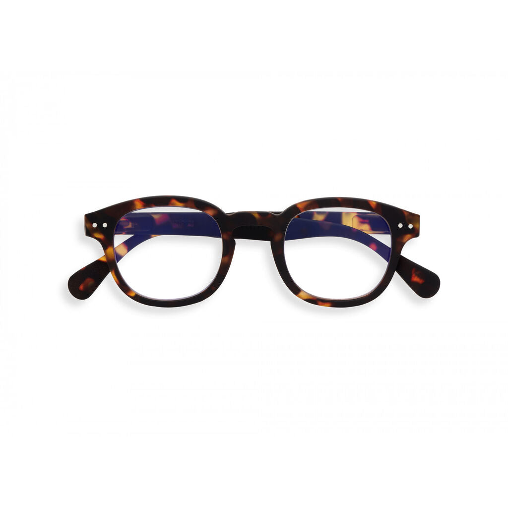 Izipizi Screen Glasses - C +0 | Tortoise IZ-SCRCC02-00