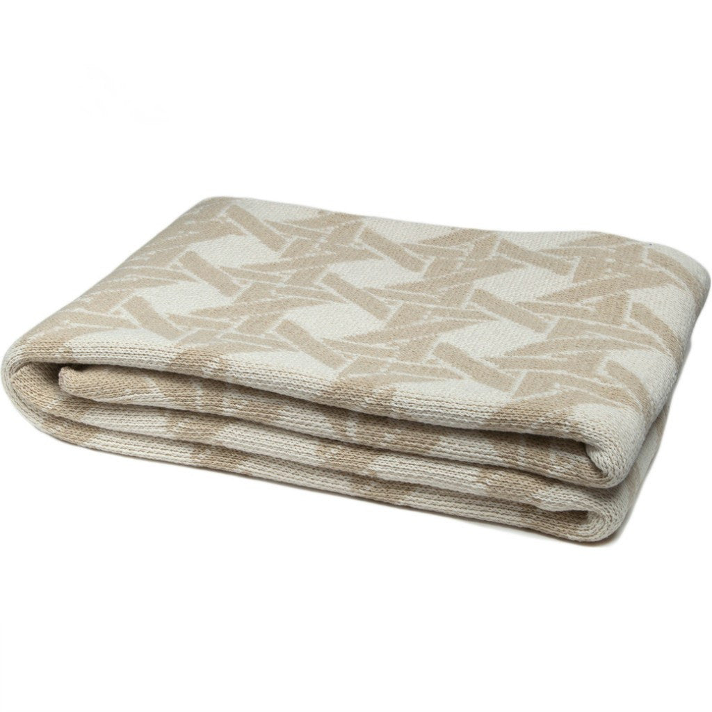 in2green Cane Eco Throw | Milk/Flax BL01CA3