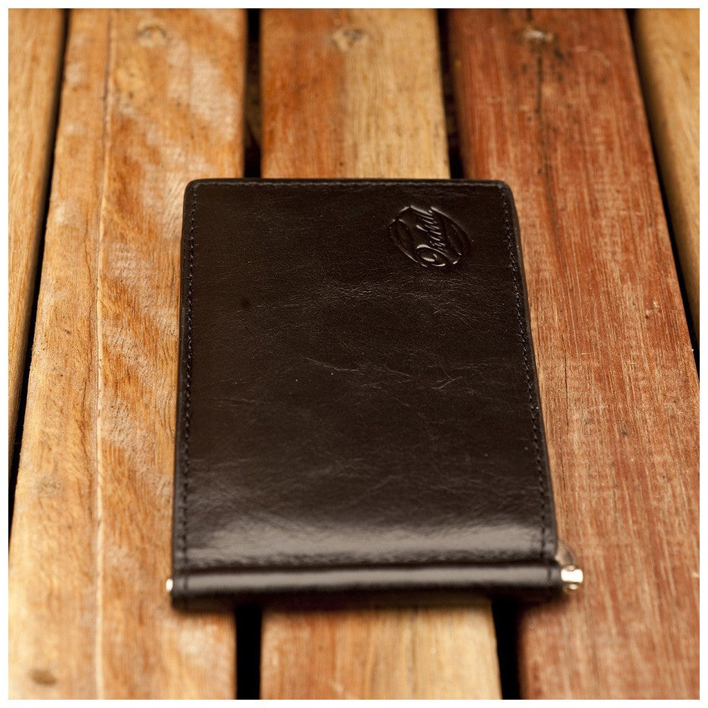 Orchill Captain Money Clip Wallet | Black