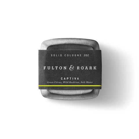 Fulton & Roark Captiva Solid Cologne | .2 oz