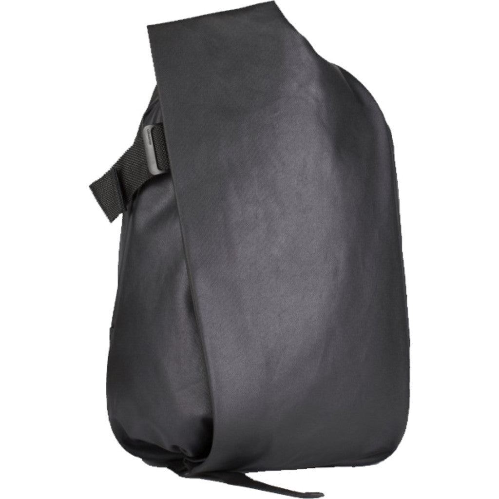 Cote et Ciel Isar Medium Coated Canvas Backpack | Black 28331