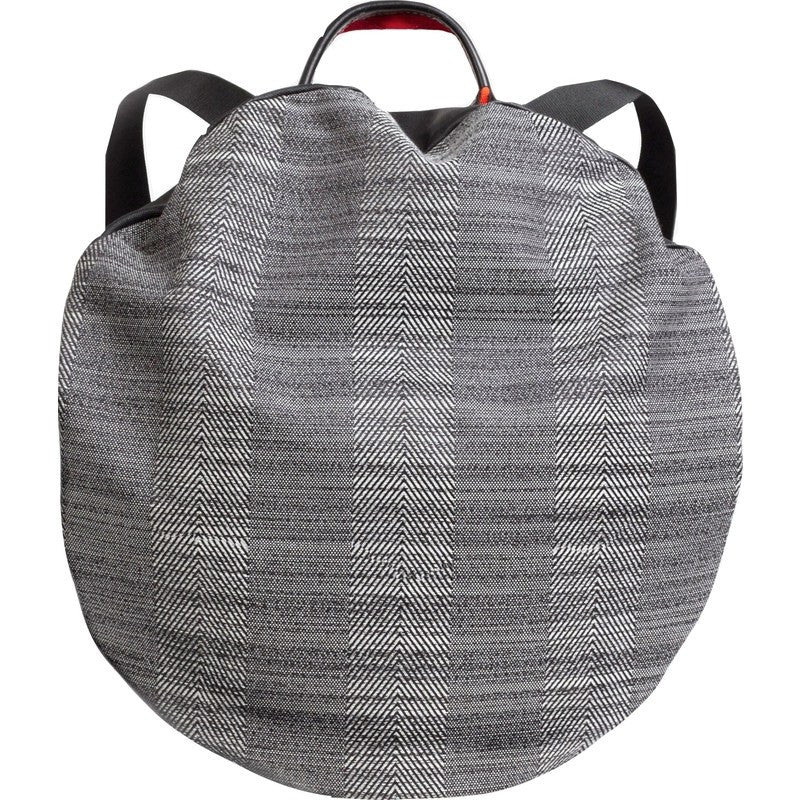 Cote&Ciel Moselle Herringbone Weave Backpack | Concrete Herringbone 28338