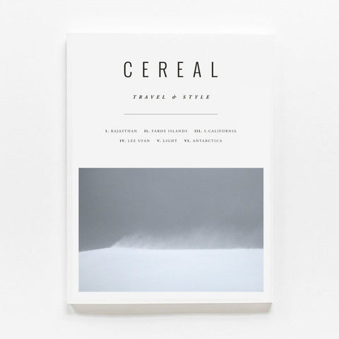 Cereal Travel & Lifestyle Magazine | Volume 12