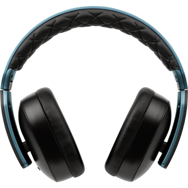 Soul Jet Hi Definition Noise Canceling Over-Ear Headphones | Blue/Black