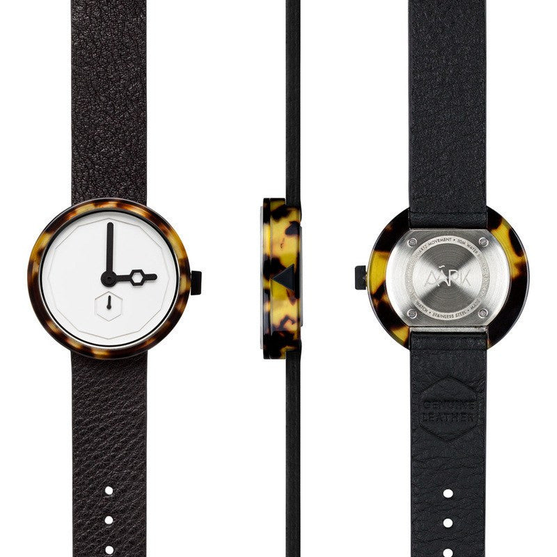 AARK Collective Classic Watch | Tortoise White