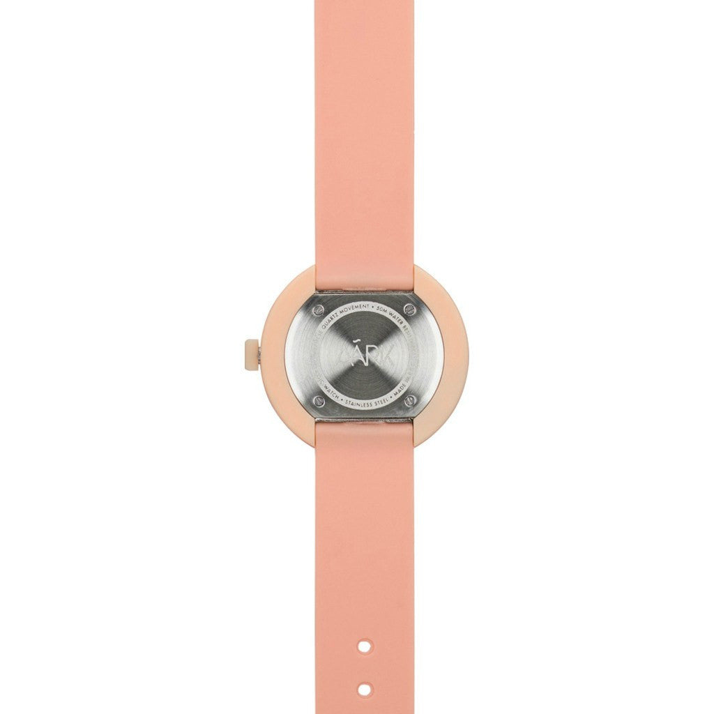 AARK Collective Classic Watch | White Peach