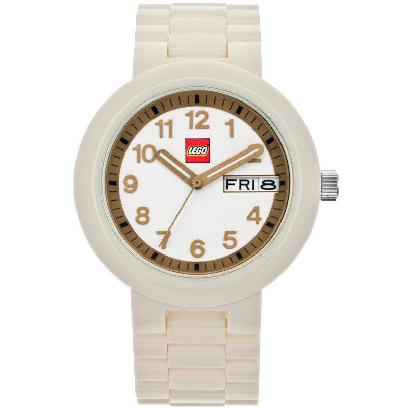 LEGO Classic Adult Watch | White/Gold