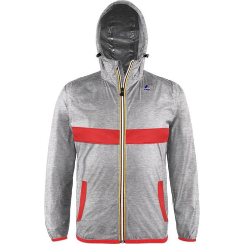 K-Way Claude Laminated 3.0 Jacket | Red XL K004BD0L