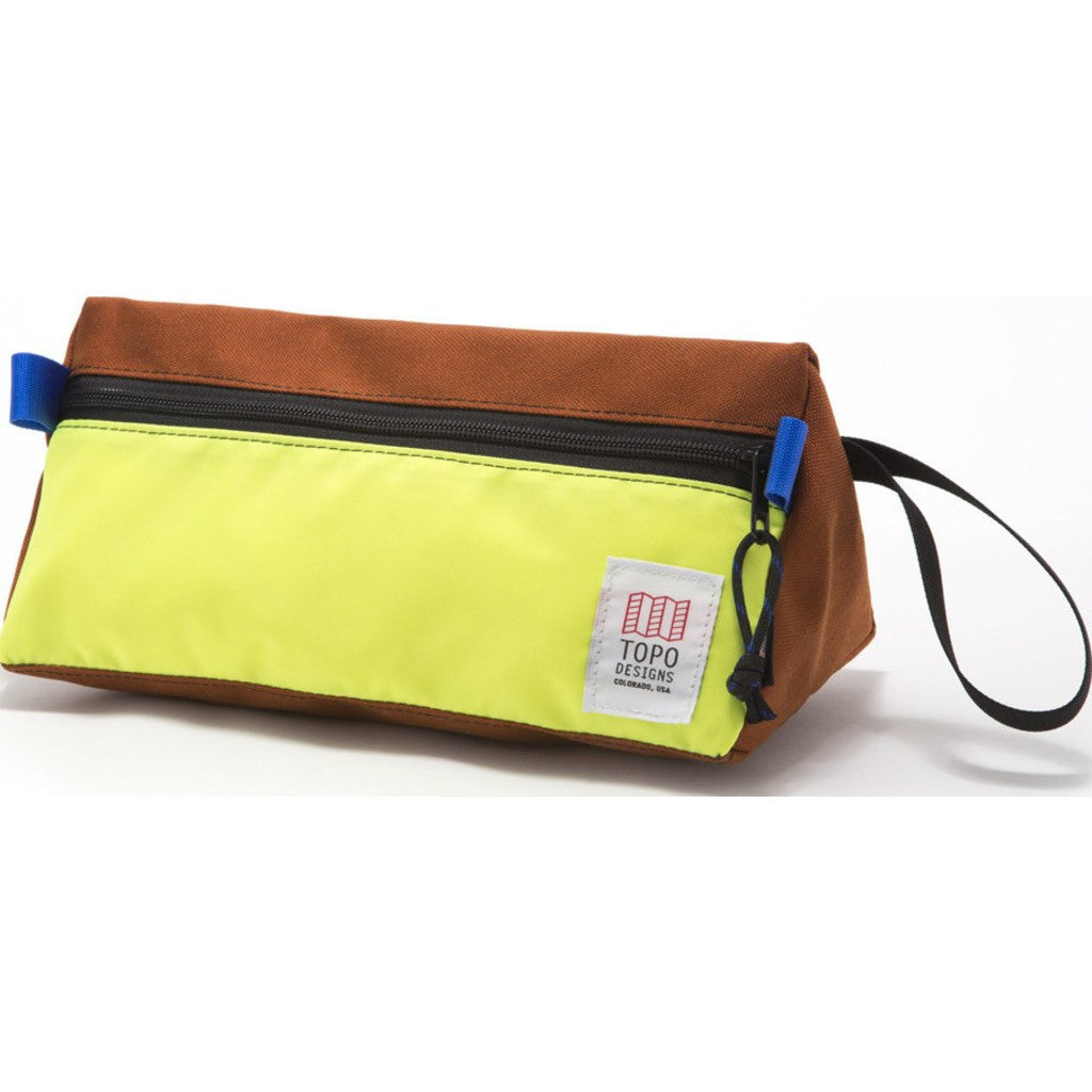 Topo Designs Dopp Kit | Clay/Yellow