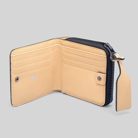 The Horse Mini Block Wallet | Taupe STO123 -L2