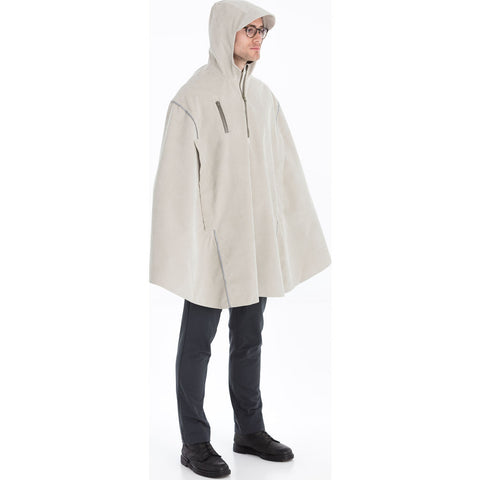 Cleverhood Corduroy Rain Cape | Coffee Milk