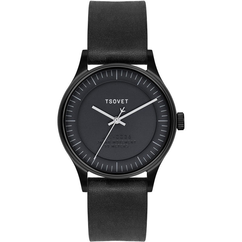 Tsovet JPT-C036 Watch | Black/Black
