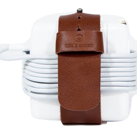 This is Ground Cordlupa 3 Apple Power Strap | Cognac