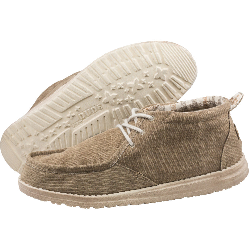 Hey Dude Conrad Canvas Shoes | Nut- 111651600