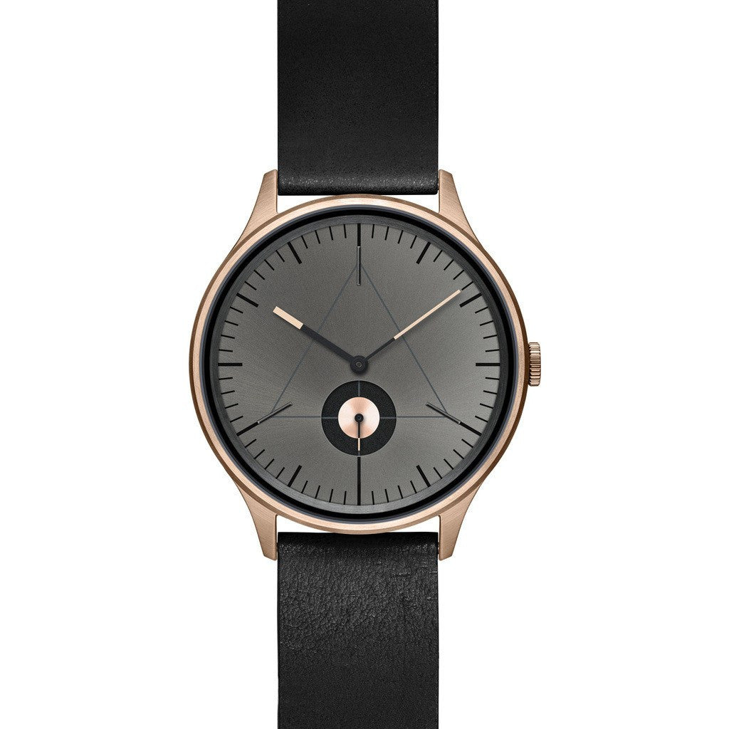 Cronometrics The Architect PVD Rose Gold Watch | Black Italian Leather CM01WL10