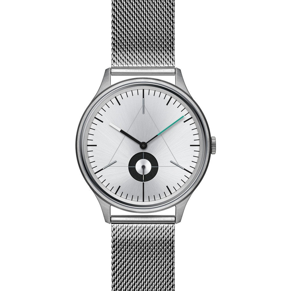 Cronometrics The Architect Brushed Steel Watch | Stainless Steel Milanese CM01WS09