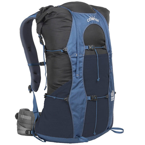 Granite Gear Crown VC 60 Regular Torso Pack | Black/Dark Slate/Bluemine