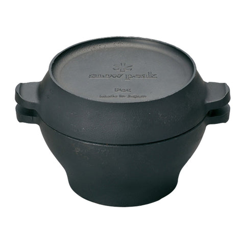 Snow Peak Micro Pot Oven | Cast Iron CS-501